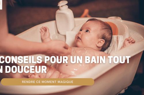 bain bébé tout en douceur