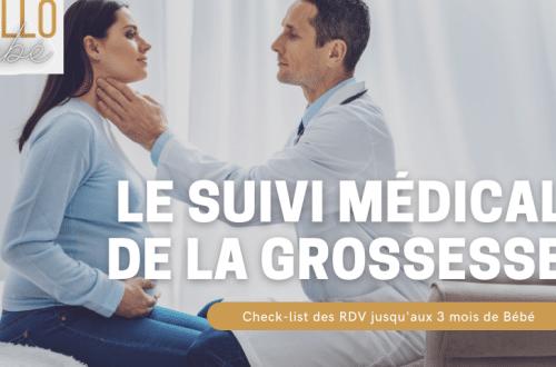 suivi médical grossesse