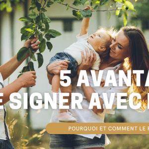 langages des signes bébé