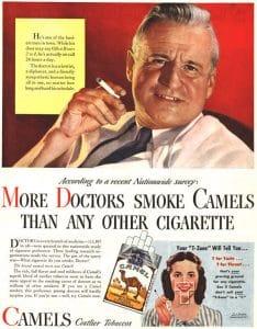 pub cigarette bon pour la santé
