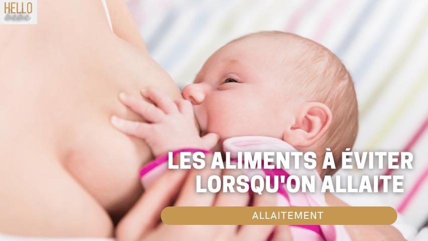 allaitement bébé alimentation