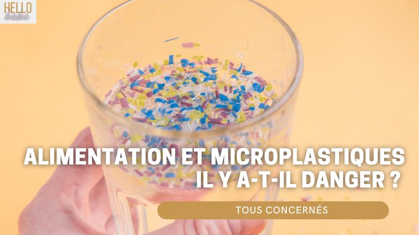 alimentation microplastique