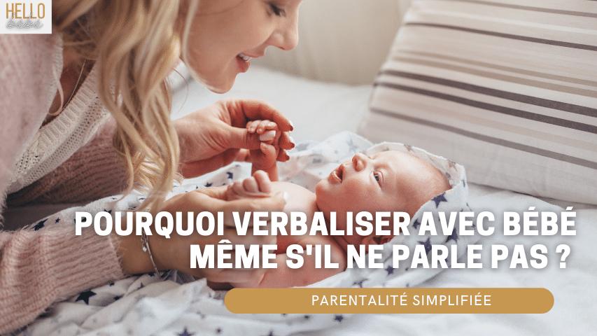 verbaliser avec bébé